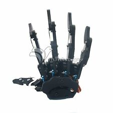 Robotic Mechanical Claw Clamper Gripper Arm Right Hand Five Fingers with Servos