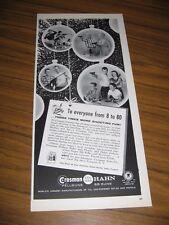 1960 Print Ad Crosman Pellguns & Hahn BB Guns Christmas