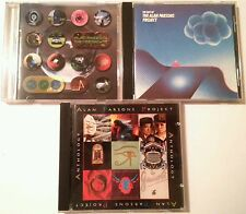 THE ALAN PARSONS PROJECT - 3 CD LOT - THE TIME MACHINE, ANTHOLOGY, THE BEST