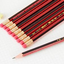10pcs HB Pencils Tradition Pencils Drawing Sketching Art School office Supplies
