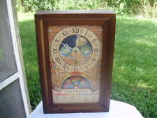 "VINTAGE Nestle Toll House ""50th Anniversary"" Moon Phase Clock Baking Calendar"
