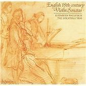 Unknown Artist English 18th-Century Violin Sonatas CD