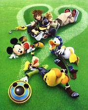 POSTER KINGDOM HEARTS BIRTH BY SLEEP FINAL MIX VENTUS AQUA TERRA ERAQUS PSP #11