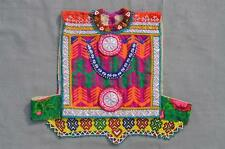 Kuchi AFGANO TRIBAL DE Choli Vintage Belly Dance Hecho A Mano stitchable Crop Top kc342