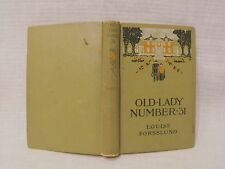 Louise Forsslund  OLD LADY NUMBER 31 c.1909 1stEd   Antiquarian Collectible Book