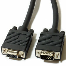 5m Male To Female Extension VGA SVGA Cable Lead-Monitor