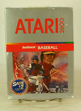 Vintage Boxed Atari 2600 game Realsports Baseball Sealed New Old Stock