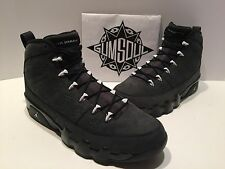 NIKE AIR JORDAN 9 RETRO ANTHRACITE WHITE BLACK 302370 013  sz 8.5