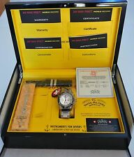 CX SWISS MILITARY 20000 Feet Diving Watch Cx20000 Silver Dial 1945 - New in Box