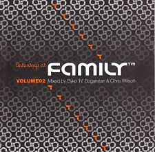 compilation, Saturdays At Family Volume 2 (Syke n Sugarstarr & Chris Wilson) 2CD