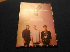 YEARS AND YEARS UK TOUR 2016 BOURNEMOUTH BIC  4TH APRIL POSTCARD POSTER NEW