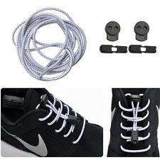 5 Paar Elastische Sport Schnürsenkel Schuhbänder für Marathon Triathlon Athleten