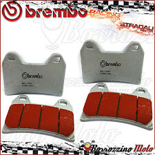 4 FRONT BRAKE PADS BREMBO SINTERED ROAD-RACING DUCATI STREETFIGHTER S 848 2013