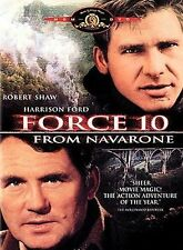 Force 10 From Navarone, Very Good Disc, Robert Shaw, Harrison Ford, Barbara Bach