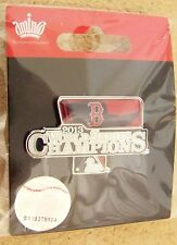 2013 World Series Champions Boston Red Sox pennant lapel pin MLB WS champs am