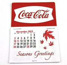Coca Cola Coke USA Calendrier 2014 calendrier - Queue de poisson Logo blanc