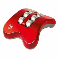 Foot Massager JML BFF Mini Booster Relief Feet Electric Rolling Vibration Red