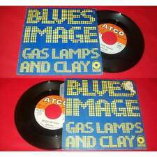 BLUES IMAGE - Gas Lamps And Clay Rare French PS 7' Psych Blues W/Languette
