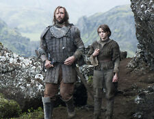 Maisie Williams and Rory McCann UNSIGNED photo - E418 - Game of Thrones