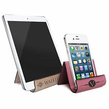 Custom Engraved Phone and Tablet Stand Holder for iPhone, iPad, Galaxy, Kindle
