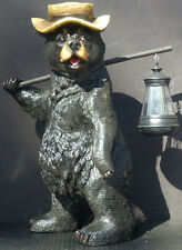 THIS LIL LIGHT of MINE  Bear with Solar Light   Statue Figurine   H16.5""