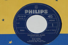 "BLUE CHEER -Summertime Blues / Out Of Focus- 7"" 45 Philips (304 162 BF)"