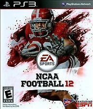 NCAA Football 12 PS3 Sony PlayStation 3 Brand New And Sealed Free USA Shipping