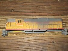 ATHEARN EMD GP-7 SHELL ONLY - UNION PACIFIC #130 (HEAVILY WEATHERED)