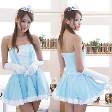 Sexy Lolita Anime Girl Cosplay Costume Uniform Princess Dress Performance Wear