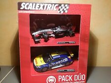 Slot SCX Scalextric A10168S300 PACK DUO F1 MCLAREN MP429 + RENAULT MEGANE TROPHY