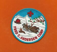 SCOUT BSA CAMP FRED C ANDERSEN INDIANHEAD NORTHERN STAR COUNCIL BOBWHITES SNOW !