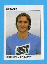 CALCIO FLASH '84 -Figurina n.41- SABADINI - CATANIA -Recuperata