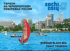 RUSSIA 2011 Souvenir Pack, Olympic Games, Sochi 2014, Black Sea Tourism, MNH
