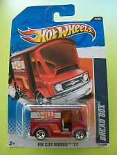 Hot Wheels HW City Works '11 - BREAD BOX (Red) #01/10 New In Packet 2010