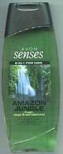 (100 ml = 1,80 €) Avon - Senses Duschgel - Amazon Jungle - 2in1 for men