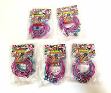 New 5 PACKS of 2 Moshi Monsters Bracelets charms party favors gift bag stuffer