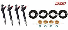SET OF 4 BRAND NEW GENUINE DENSO DIESEL INJECTOR FORD TRANSIT MK7 2.4 2006 ON
