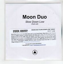 (GE361) Moon Duo, Slow Down Low - DJ CD