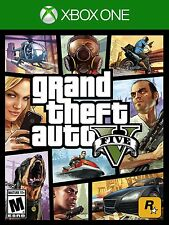 Grand Theft Auto V 5 [Xbox One XB1, GTA Action Driving Shooting Carjacking] NEW