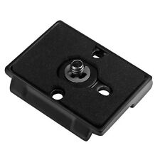 Camera Quick Release Plate for Canon / Nikon Camera Compatible with Manfrotto