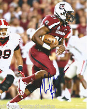 SOUTH CAROLINA GAMECOCKS MARCUS LATTIMORE SIGNED 8X10 PHOTO W/COA SF 49ERS