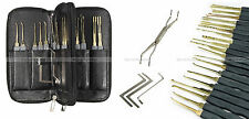 lockpicking lock pick set tools unlocking opener kit crochetage - FREE SHIPPING