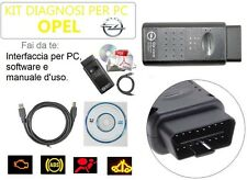 CAVO DIAGNOSI AUTO NUOVO V1.59 INTERFACCIA OBD SPECIFICA OPEL PROFESSIONALE