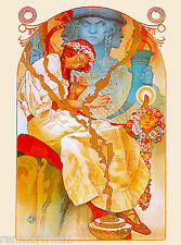 The Slav Epic French Nouveau Alphonse Mucha Vintage Advertisement Art Poster