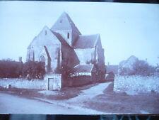 PHOTO ANCIENNE VERS 1900 BAZOCHES SUR VESLES EGLISE SAINT PIERRE
