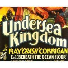 """Undersea Kingdom - Classic Cliffhanger Serial Movie DVD Ray """"Crash"""" Corrigan"""