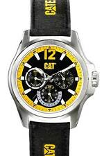 Men's Caterpillar black yellow CAT  PL.149.64.134  DP XL Chronograph Watch deal