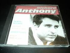 "CD ""LES PLUS BELLES CHANSONS DE RICHARD ANTHONY"" best of"