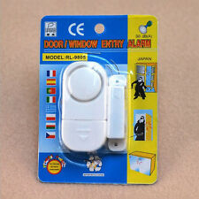 Wireless Home Magnetic Door Motion Detector Sensor Burglar Security Alarm System