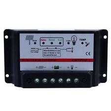 30A 12V/24V Auto Switch MPPT Solar Panel Battery Regulator Charge Controller D`